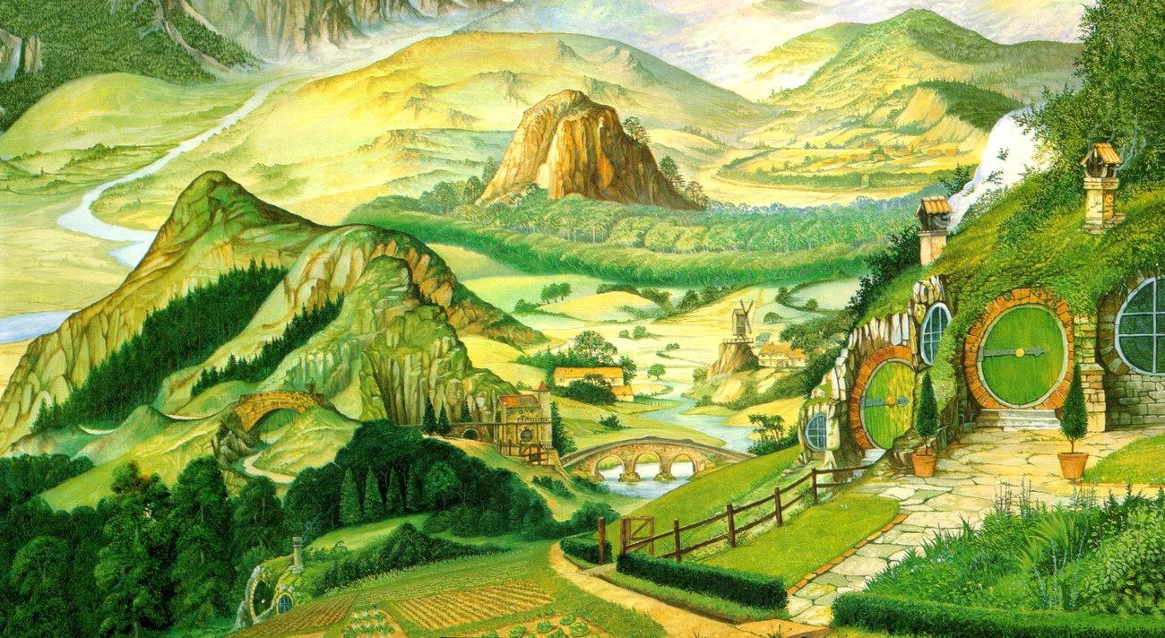 Particolare di The Shire, Roger Garland.