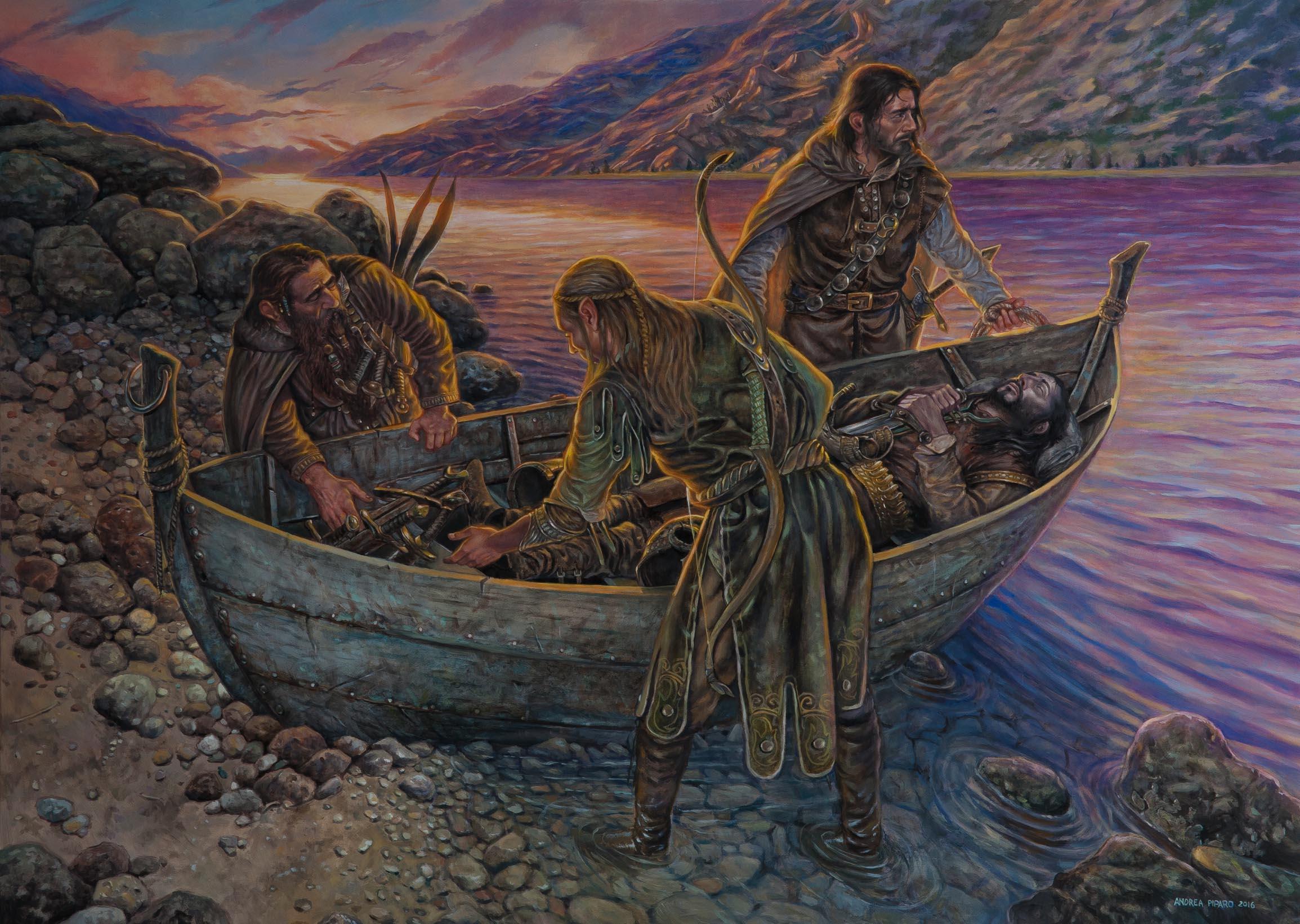 L'addio di Boromir - Il Signore degli Anelli - di Andrea Piparo