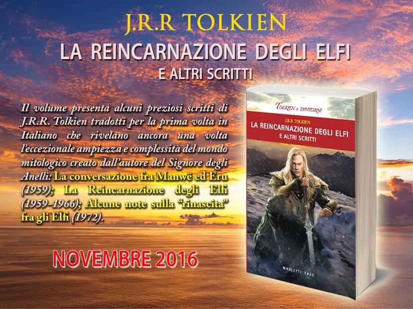 Il libro con l'immagine di Ivan Cavini in copertina. Grafica elaborata da Tolkien Italia, non riprodurre senza consenso.